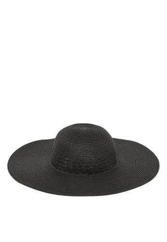 Vero Moda black Jolla Straw Hat BCF28ACA1B3F3DGS_1