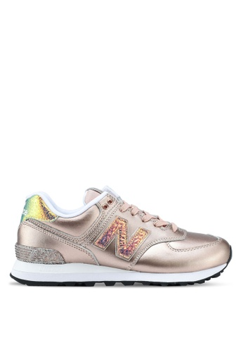 New Balance multi 574 Classic Glitter Punk Lifestyle Sneakers NE323SH0SW9TMY_1