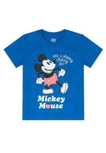 FOX Kids & Baby blue Short Sleeve Tee 04C74KA51EC165GS_1