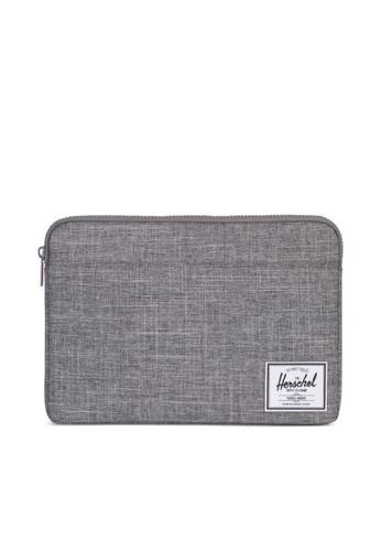 """Herschel grey Herschel Anchor Sleeve MacBook Pro 13"""" (new) 5F5DAAC3062796GS_1"""