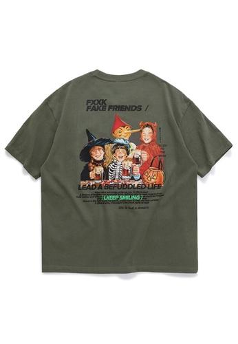 Twenty Eight Shoes Trend Printed Short T-shirt 1023S20 02FA1AA1E15396GS_1
