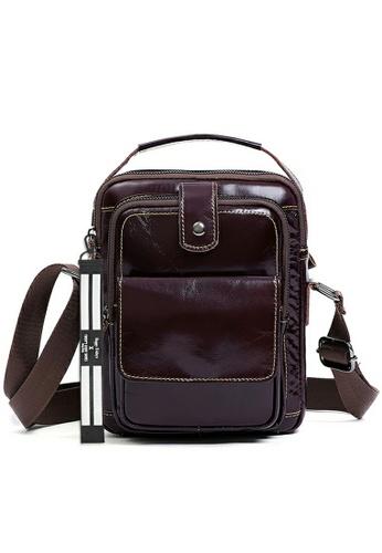 Twenty Eight Shoes Handmade Vintage Leather Sling Bag QYE6509 B64B7AC0F08DC9GS_1