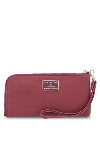Shop Perllini Mel Faux Leather Long Wallet Online on ZALORA Philippines 0f6d46ab70c3a