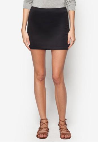 基本款迷你短裙, 服飾, zalora開箱裙子