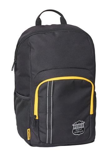 CAT black CAT Peoria School Bag Black Yellow A0DCAACE13455BGS_1