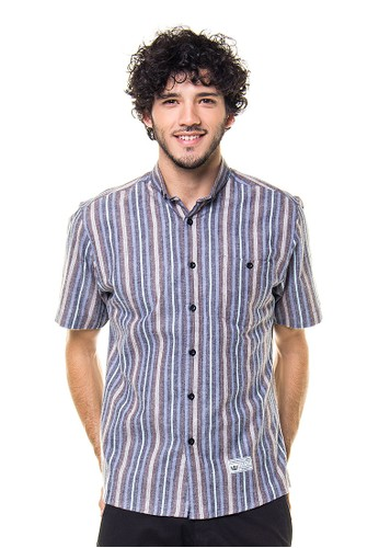 17seven Original Shortshirt Linebrown