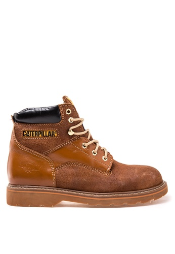 Caterpillar brown Chicago Boat Shoes CA367SH10KXTPH_1