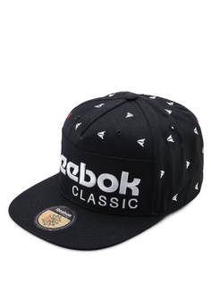 8563c80e Reebok black Classic Graphic Cap F679BACE8B5BA0GS_1