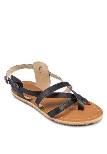 Kirsten 交叉帶涼鞋, zalora 心得 ptt女鞋, 鞋