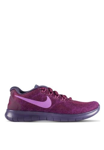 Nike purple Women's Nike Free RN 2017 Running Shoes NI126SH0RWGEMY_1