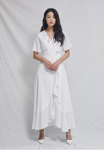 Clair de Lune white BiJou Dress CL525AA0GSAISG_1