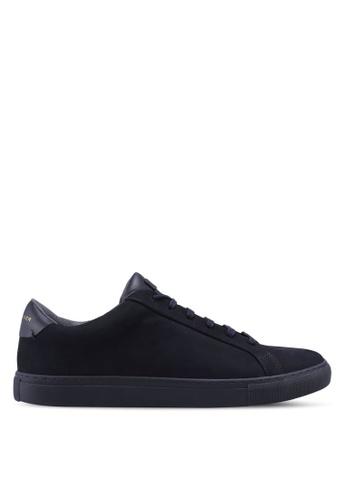 KG Kurt Geiger navy Donnie Suede Sneakers 71DAASHFEFE8A2GS_1