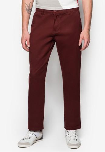 基本款休閒長褲, 服esprit香港分店飾, 直筒褲