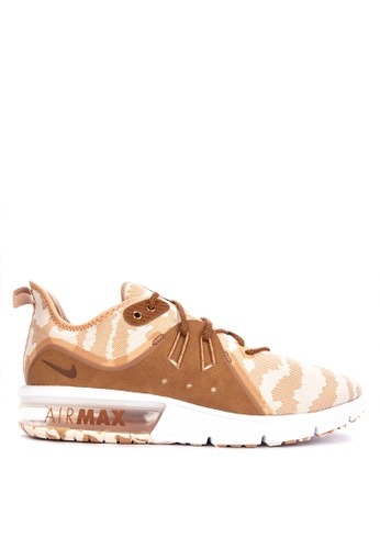Nike beige Men's Nike Air Max Sequent 3 Running Shoes 5A290SHACDBFC3GS_1