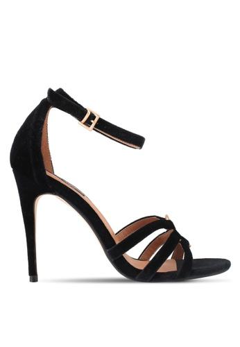 ZALORA black Top Ringed Detail High Heels FA6B4SHC1237B6GS_1