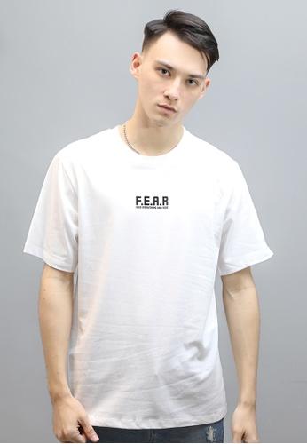 F.E.A.R white FEAR CROSS TEE(WHITE) B7BA3AADA2C465GS_1