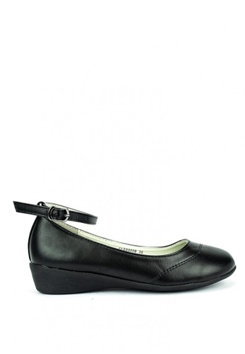 Cardam's Lifestyle black Emer School Shoes 08311SH39139E3GS_1