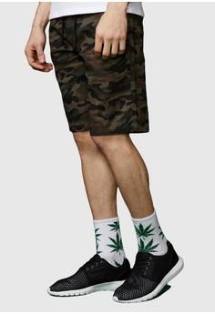 Pixelated Camo Army Shorts