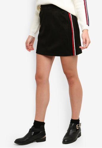 0154e235d Shop Vero Moda Donna Faux Suede Skirt Online on ZALORA Philippines