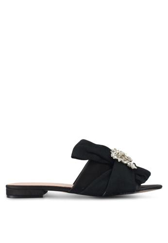 ALDO black Simaxis Flat Sandals 6013ASH81F741AGS_1