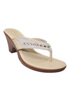 Floche Heels Slides Sandals F15-229