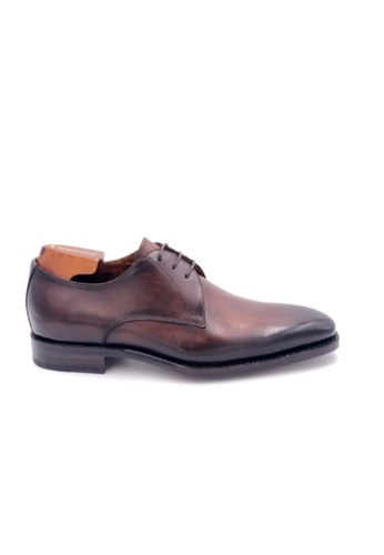 Giorostan brown Men Formal Derby Shoes 58CEASHAD1E568GS_1