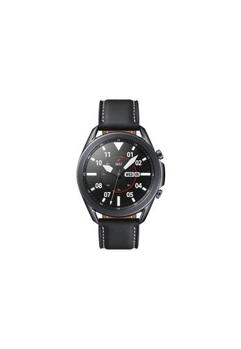 Samsung black Samsung Galaxy Watch3 Bluetooth (45mm) Stainless Steel Mystic Black. 55758HL4478473GS_1