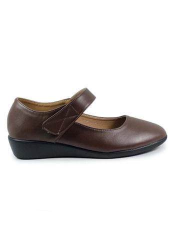 BNC brown Women Formal Pump Shoe 0BED2SH74281DAGS_1