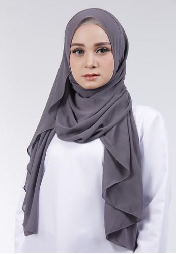 Cantik Kerudung grey Adela Instant EC0B7AA2ADABD3GS_1