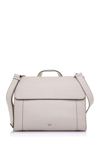 Braun Buffel beige Mike Briefcase In Cream 06059AC8417274GS_1