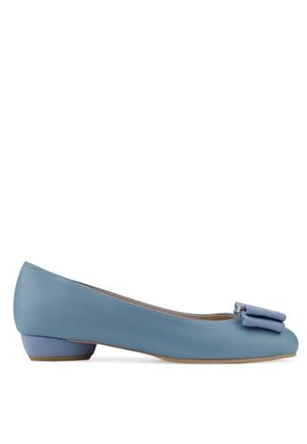 SPUR blue Neatly Girl Flats 5BD0DSH10AB89AGS_1