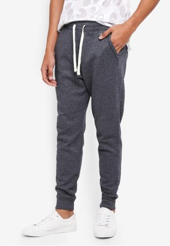Hollister 黑色 Skinny Icon Sweatpants 22BEAAA6667B6EGS_1