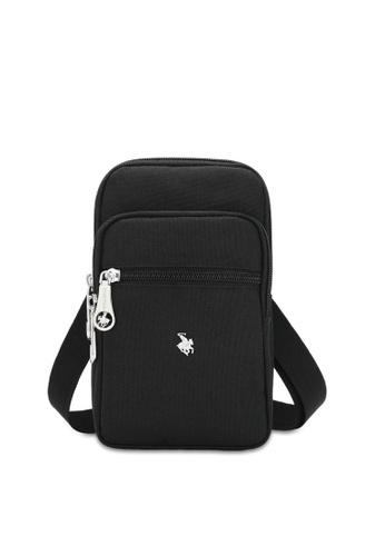 Swiss Polo black Travel Sling Pouch 50B0DACD9F317EGS_1