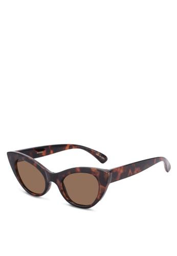 a89f4eb8a6 Shop MANGO Cat Eye Sunglasses Online on ZALORA Philippines