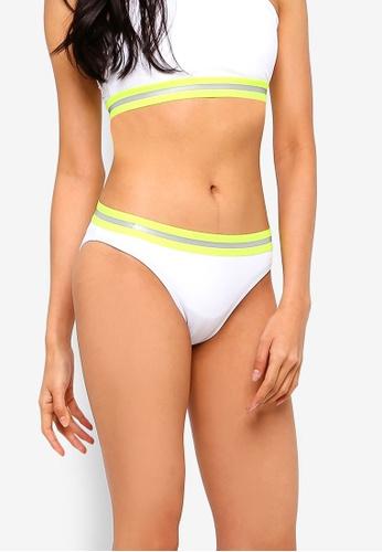 Factorie white Full Bikini Bottom With Tape 5D08EUS551B70DGS_1
