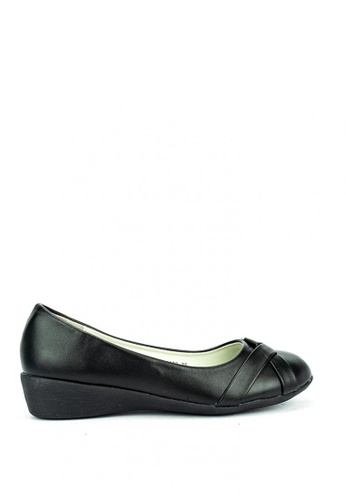 Cardam's Lifestyle black Elvira School Shoes BE94ASH6D0BAAFGS_1