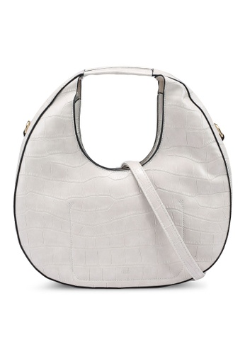 nose white Circular Hand Bag 081B7ACD67951BGS_1