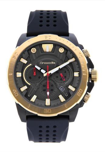 Crocodile Timepiece black Jam Tangan Sport Pria Crocodile Warna Hitam Emas CM-010B34E 48204AC1B28CDEGS_1