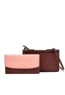 Fossil Sage - Leather - Mini bag - Henna - Tas Wanita - SLG1202-227 848bb1d6be