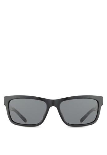 對比色方框太陽眼鏡, 飾品配件, 飾品配zalora 泳衣件