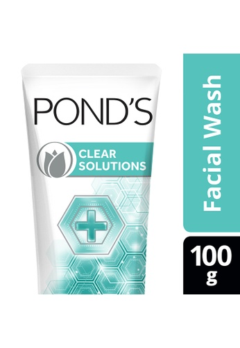 Pond's n/a Pond's Clear Solutions Facial Wash Anti-Bacterial 100G CAF2EBE8104BF1GS_1