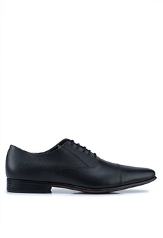 4c1182b2209b Burton Menswear London black Black Oriel Oxford Shoes 72E23SHF601599GS 1