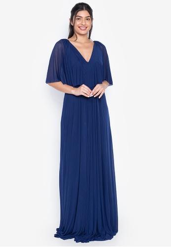 Tantease navy Arianna Evening Dress B8245AA8EE106AGS_1