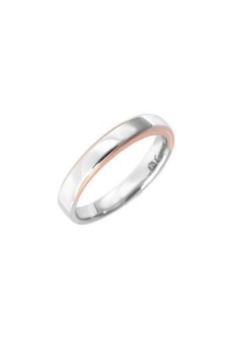 GOLDHEART gold GOLDHEART Evermore Ring (Male), White Gold & Rose Gold 750 (EBE-R4856) 5C175AC2E3004FGS_1