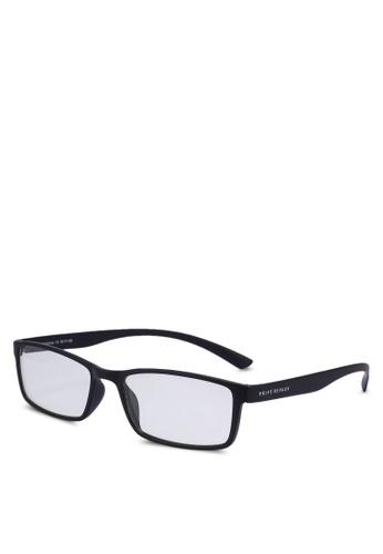 Privé Revaux 黑色 The Confucius Sunglasses A5C9DGLBE21B6FGS_1