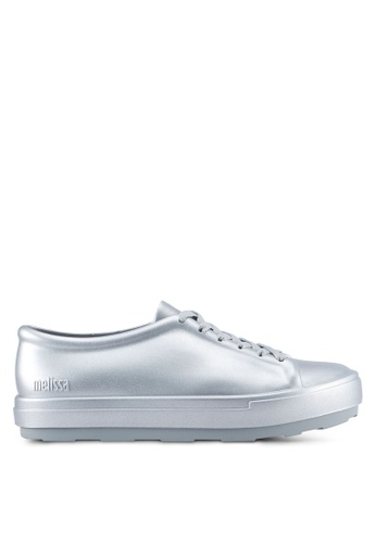Melissa 銀色 Melissa Be Shine Ad Sneakers ME121SH0SX7RMY_1