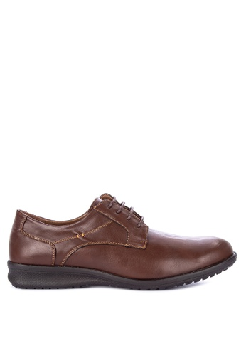 H2Ocean brown Samir Smart Casual Shoes 9EBE7SH3E92E09GS_1