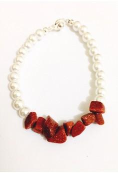 Anya Sandstone Bracelet
