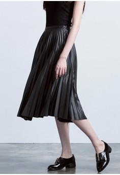Matte Madness Pleated Skirt
