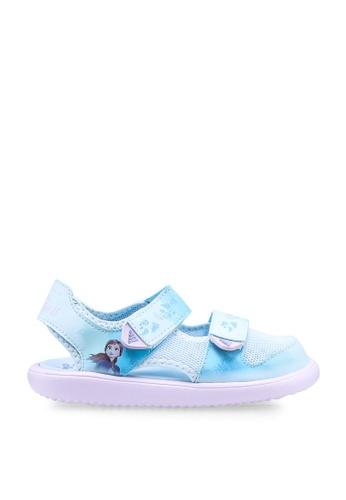 Adidas 藍色 swim sandals C10C9KS3D0FEDFGS_1